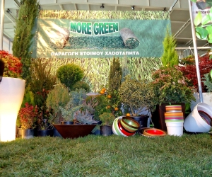 More Green Έτοιμος χλοοτάπητας - γκαζόν | Συμμετοχή σε εκθέσεις